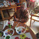 Bos en Meerzicht - schilderen